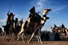 Tuareg camel race. Aïr Festival, sustained by a CISP's project. Iférouane, Niger 2018