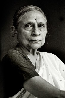Ela Bhatt, founder of SEWA, the biggest trade union of women workers, Ahmedabad 2007