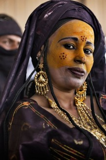 Tuareg woman. Aïr Festival, sustained by a CISP's project. Iférouane, Niger 2018