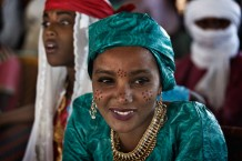 Tuareg girls. Aïr Festival, sustained by a CISP's project. Iférouane, Niger 2018