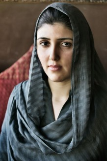 Ayesha Gulalai Wazir, youngest Member of the National Assembly of Pakistan, and first elected woman from the Federally Administered Tribal Areas. Islamabad, Pakistan 2013