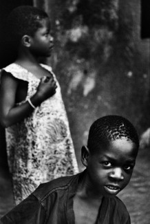 Balungidi Plamedi (God's plan) and Emérite Makita, ndoki (sorcerers). Mobikisi centre, Kinshasa, 2006. Ndoki are accused of being the cause of everything wrong. They are tortured in order to through the evil spirits out of them.The more they suffer, the better.