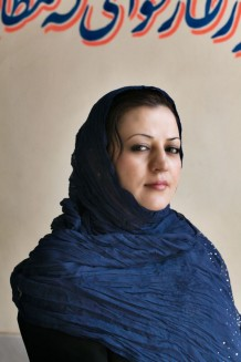 Maria Bashir, Chief Prosecutor General, Herat Province. First woman prosecutor in Afghanistan, International Women of Courage Award 2011. Herat, Afghanistan 2011