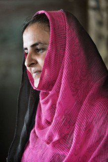 "Pakistani human rights activist Mukhtar Mai. She survivied a gang-rape as an honour revenge. Author of the best seller ""In the name of Honour"". Glamour Magazine Woman of the Year 2005. Islamabad, Pakistan 2013"