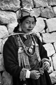 The Ladakh festival. Leh, India 2004.<br>The Ladakh festival takes place in Leh every year in September. Proudly wearing their traditional clothes, on this occasion all the different Tibetan groups of the district take part in dances and concerts, archery competitions and polo matches.